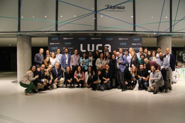 Figure 1 : Part of the LUCA team at BDID2017