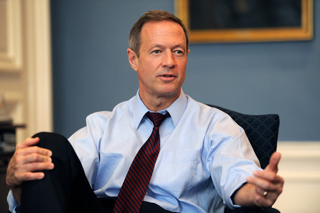 Martin O'Malley, Governor of Maryland from 2007 to 2015