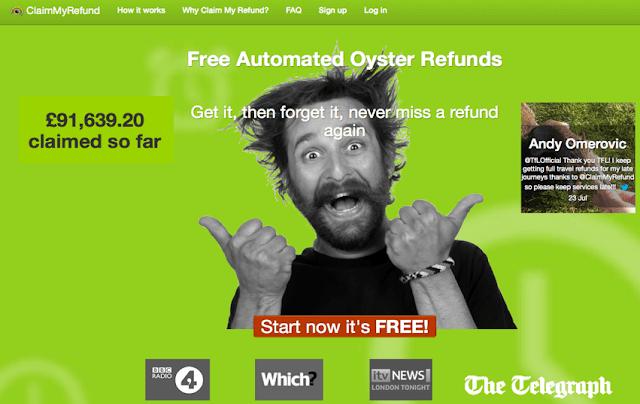 Claim my Refund startup
