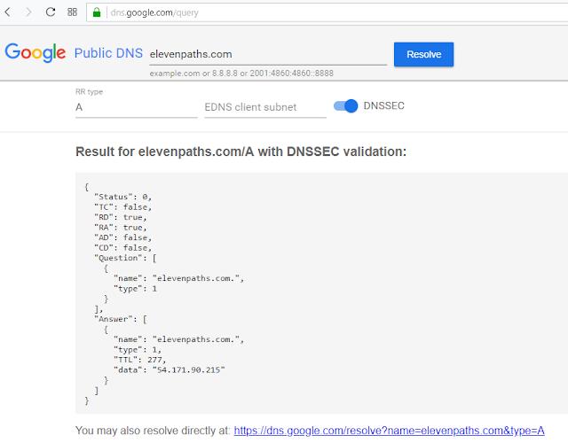 Usa DoH a través de las APIs de Google y Cloudfare imagen