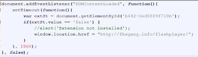 JavaScript fragment cibersecurity image