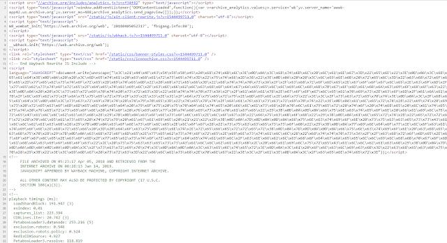 Aspecto del código JavaScript, posteriormente a su decodificación ciberseguridad imagen