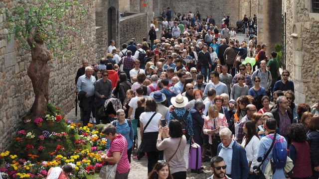 People on Girona