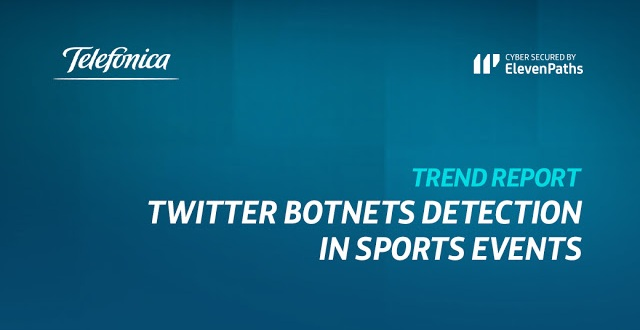 New report: Twitter botnets detection in sports event imagen