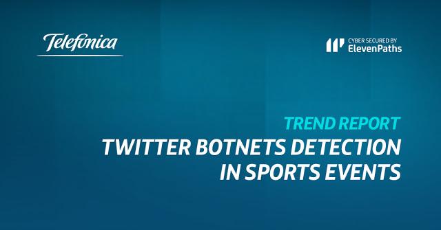 New report: Twitter botnets detection in sports event imagen