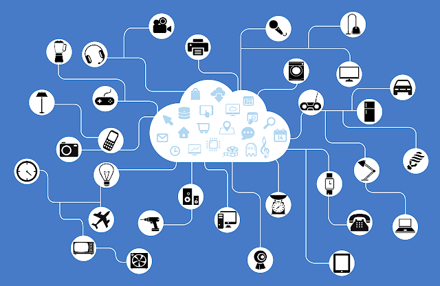 A graphical representation of the IoT