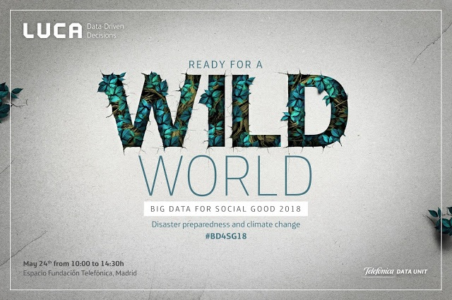 Ready for a Wild World - Big Data for Social Good 2018