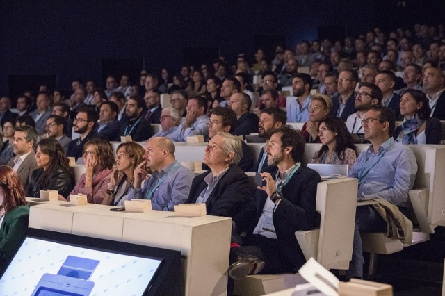 PHOTO 1: Full capacity at LUCA Innovation Day 2019 with more than 450 attendees.