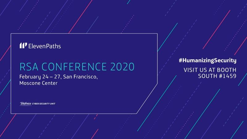 ElevenPaths at RSA Conference 2020