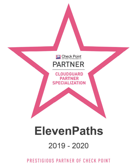 ElevenPaths CloudGuard Partner Specialization Check Point