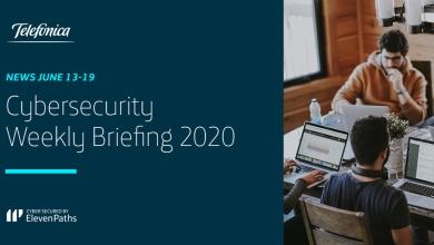 Cybersecurity Weekly Briefing 6-12 June