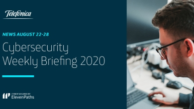 Cybersecurity Weekly Briefing August 22-28