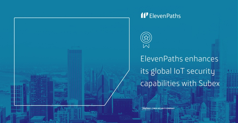 Telefónica's ElevenPaths enhances its global IoT security capabilities with Subex