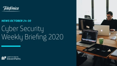 Cybersecurity Weekly Briefing October 24-30