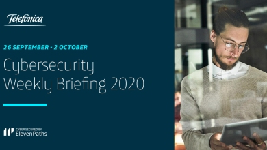 Cybersecurity Weekly Briefing 26 September - 2 October