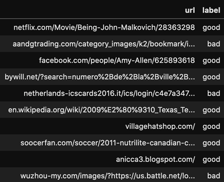 Picture 2: Malicious URLs