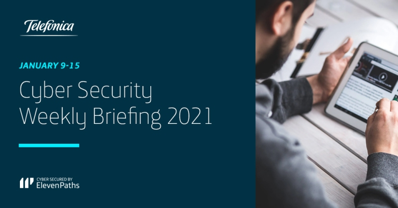 Cyber Security Weekly Briefing January 9-15