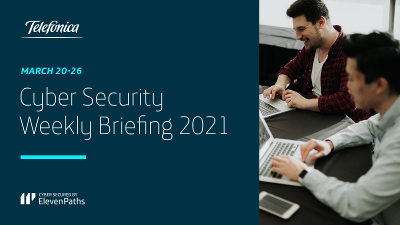 Cyber Security Weekly Briefing March 20-26