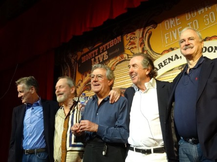 Image of the  Monty Python group.